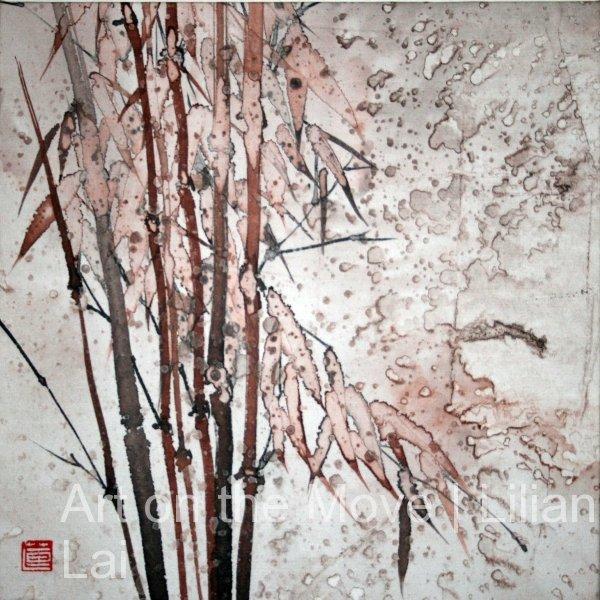 Bamboo in Sepia