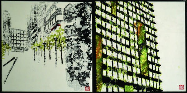 Sydneyscapes panel7: Hidden Garden – Ultimo Pedestrian Network Stage 1, Vertical Garden – Central Park